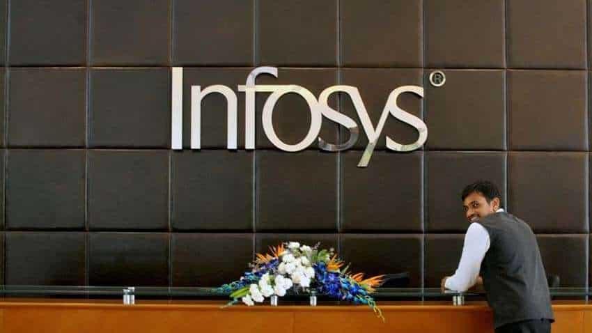 Q1FY22 Infosys Result: इन्फोसिस को 5200 करोड़ का मुनाफा;35,000 कॉलेज ग्रेजुएट्स को देगी जॉब | Zee Business