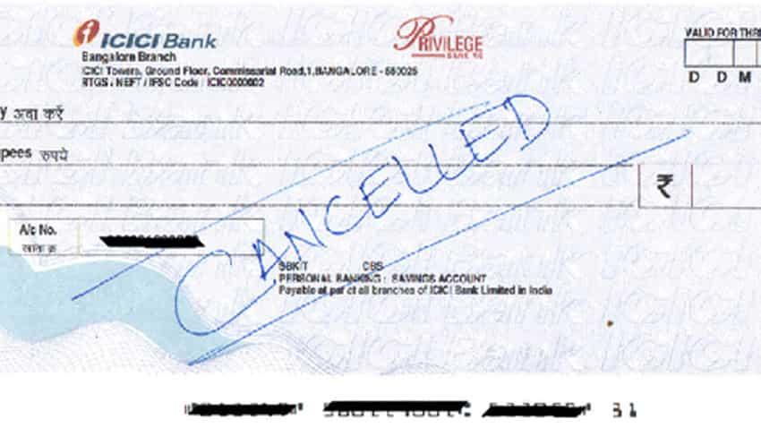 Cancelled Cheque Main Kya Jankari Hoti Hai