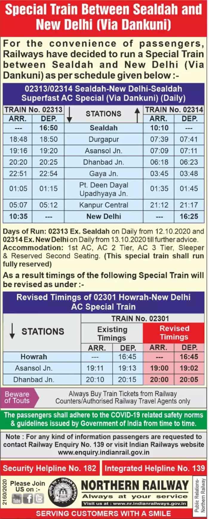 Durga puja special train
