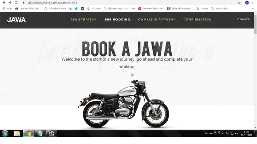 jawa booking