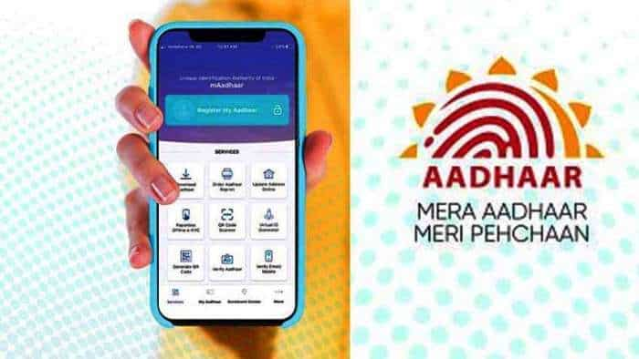 Aadhaar and mAadhaar app Email ID verification, registered Mobile Number UIDAI