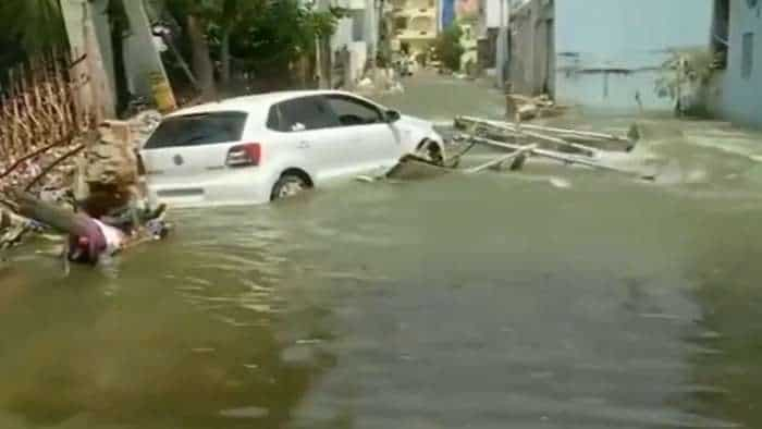 Heavy Rains and Floods in Telangana