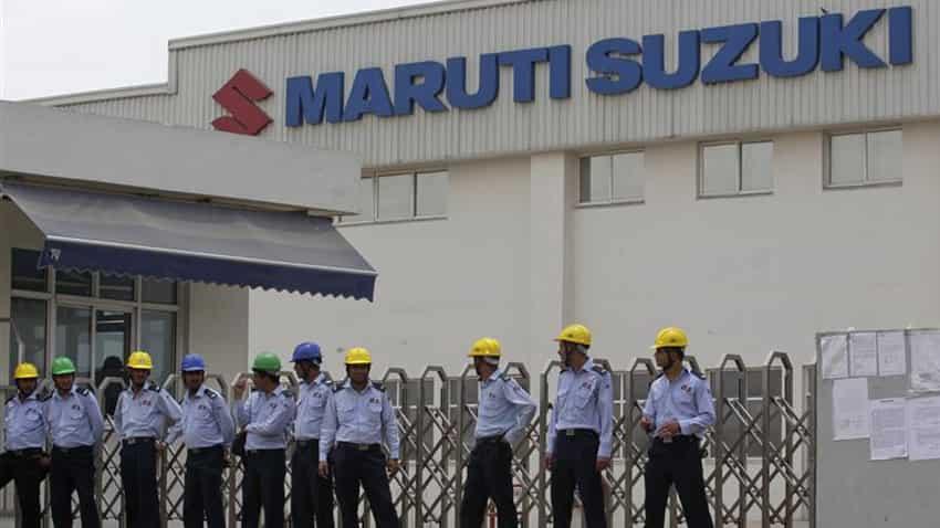 maruti suzuki india resumes production at gurgaon  manesar