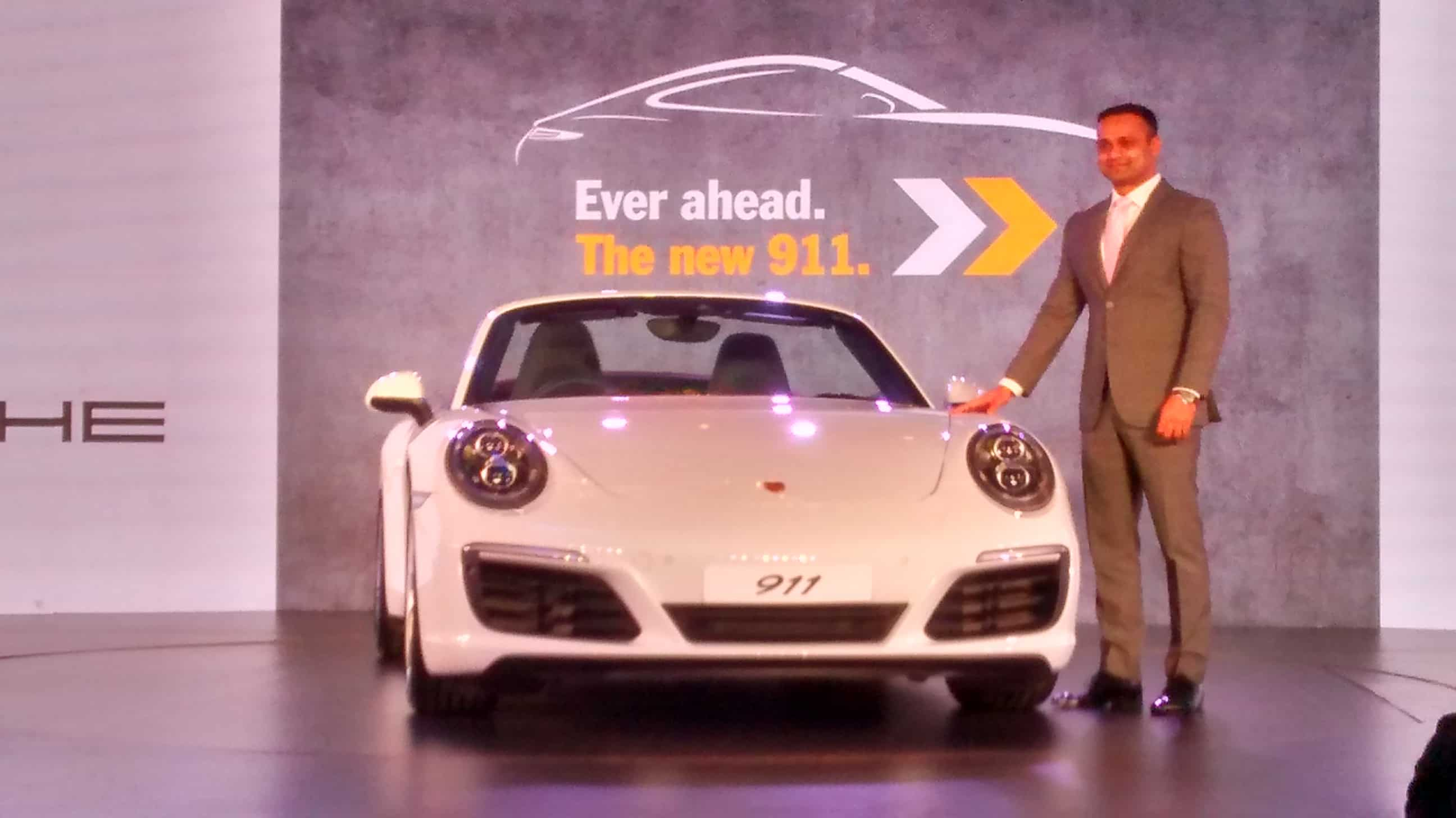 Pavan Shetty, Director of Porsche India