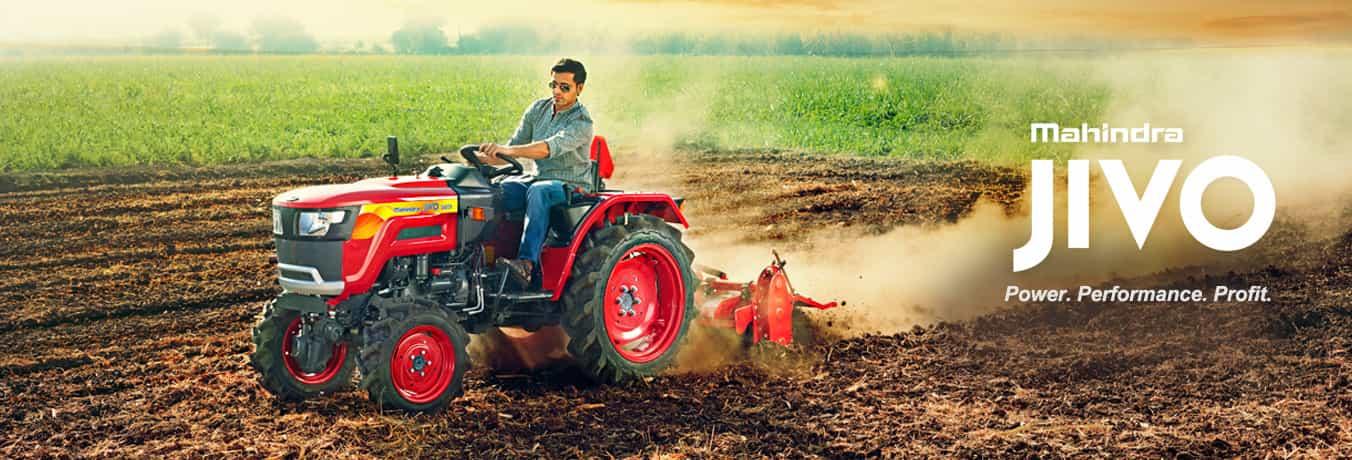 Mahindra launches small tractor Jivo priced at Rs 3 90 lakh
