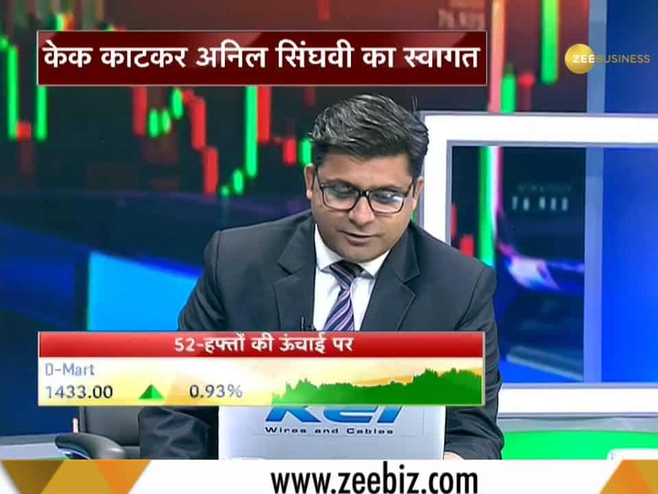Zee Business Managing Editor Anil Singhvi LIVE | Zee Business