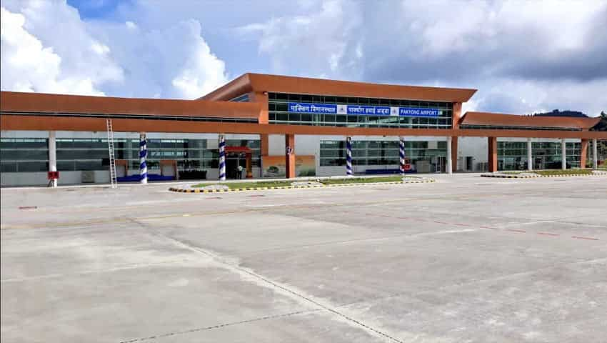PMO Shares Pictures of Sikkim Airport