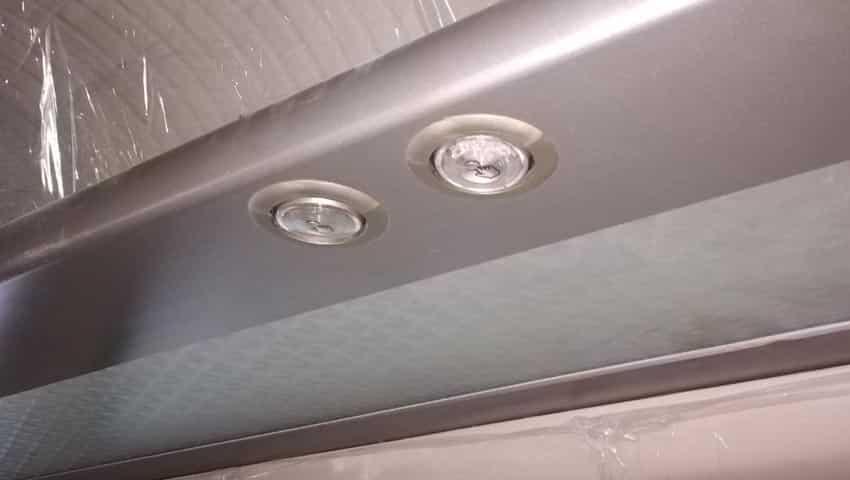 Train 18: LED light and Luggage rack