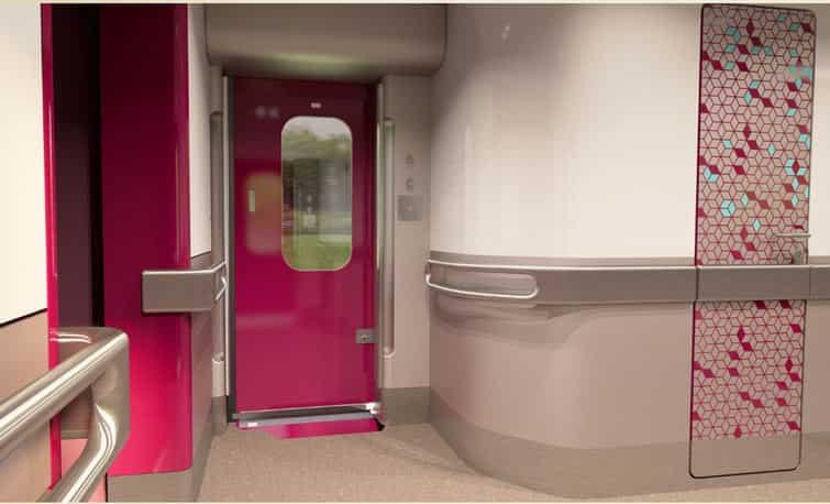 Train 18 Interior