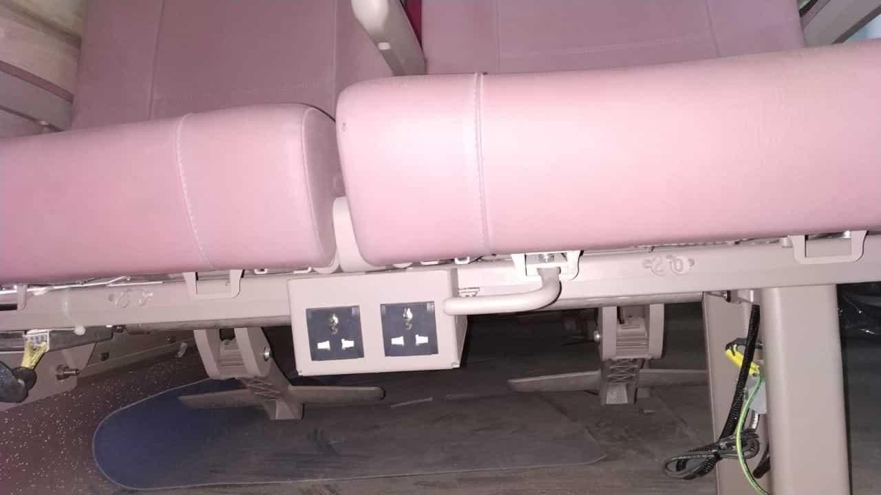 Train 18 Charging Ports