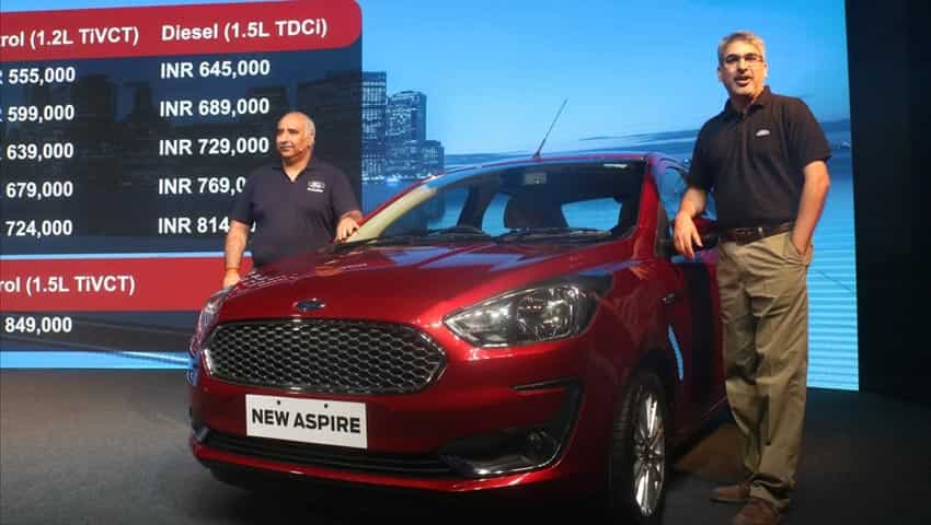 New Ford Aspire: Fog Lamp Area