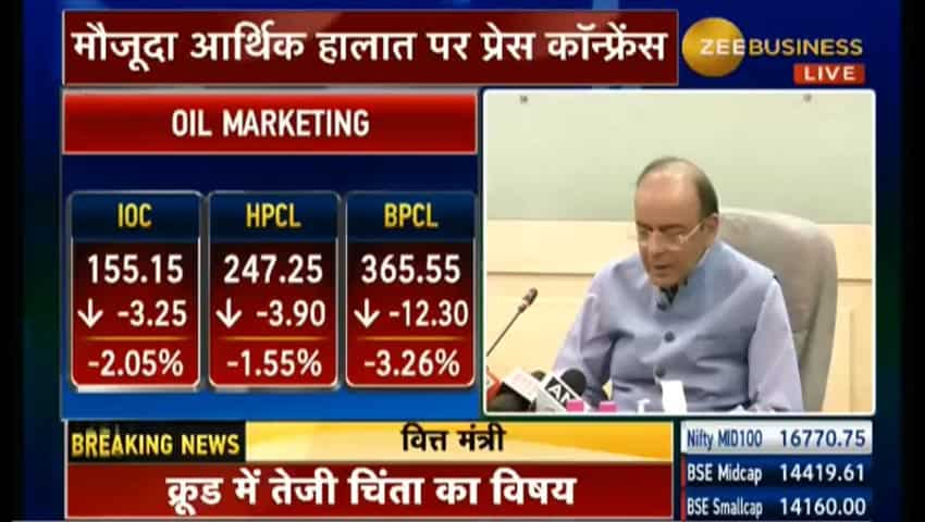 Brent crude oil at four-year high behind price cut: Arun Jaitley