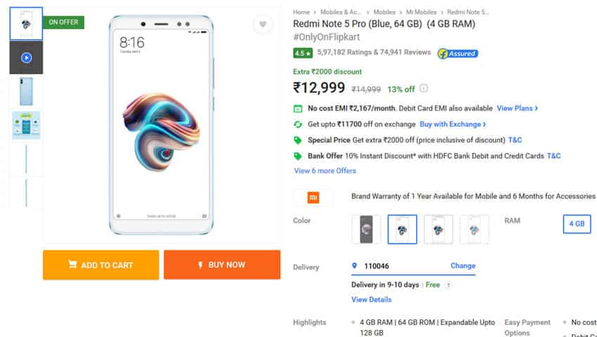 Flipkart Big Billion Day Sale: Airtel, Jio and Axis Bank Offers