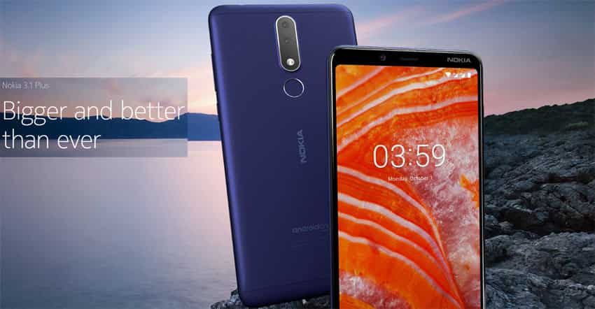 Nokia 3.1 Plus Display