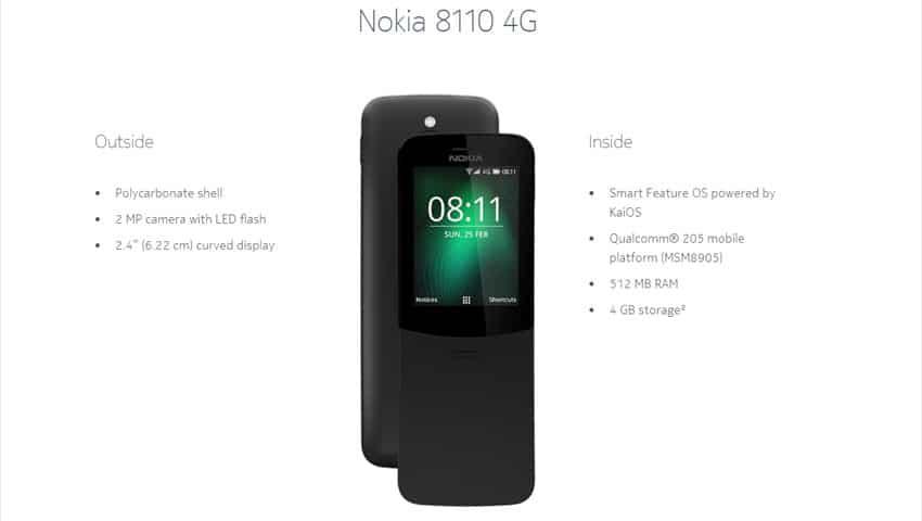 Nokia 8110: The Classic Phone