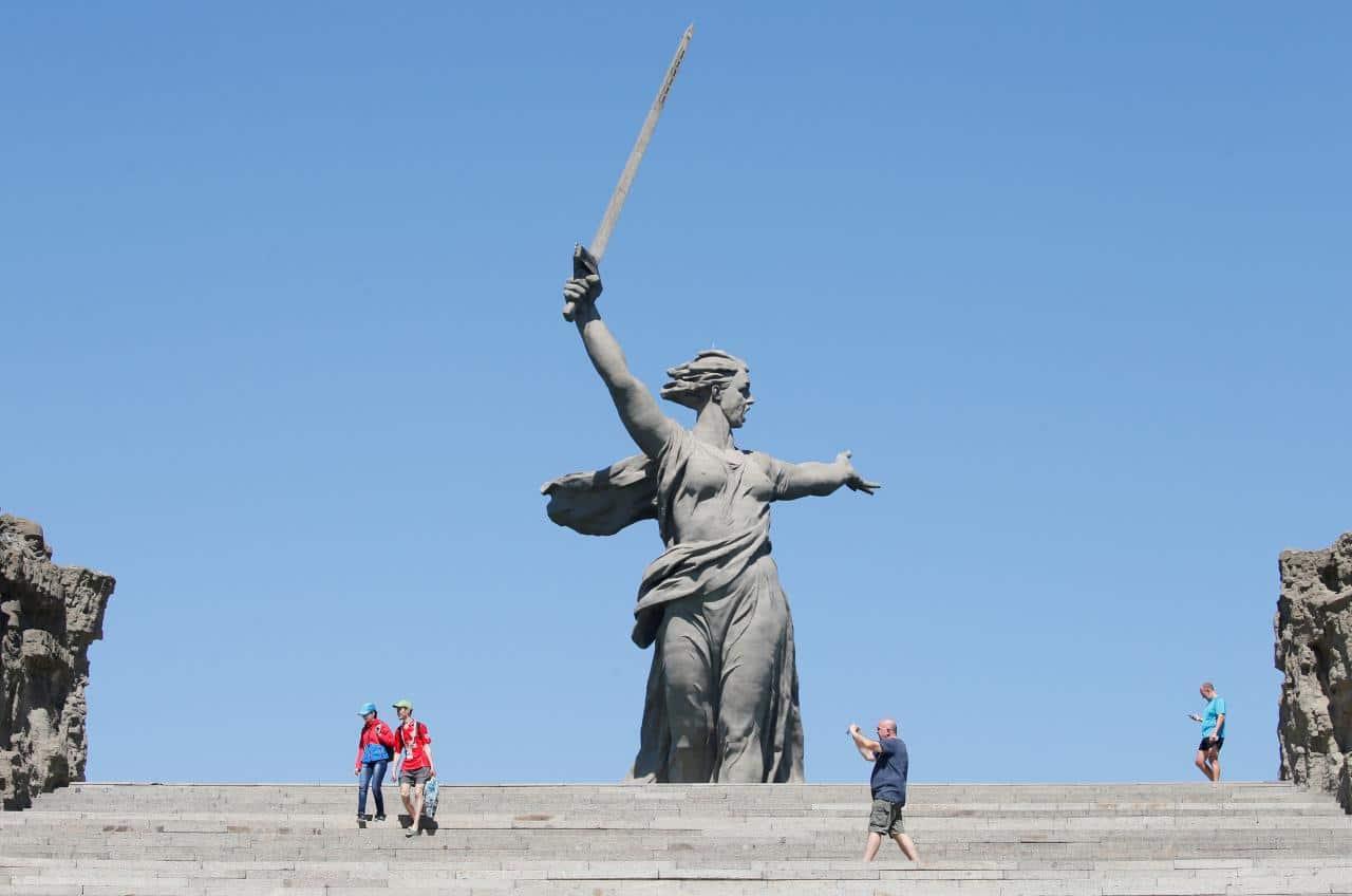 Motherland Calls, Russia