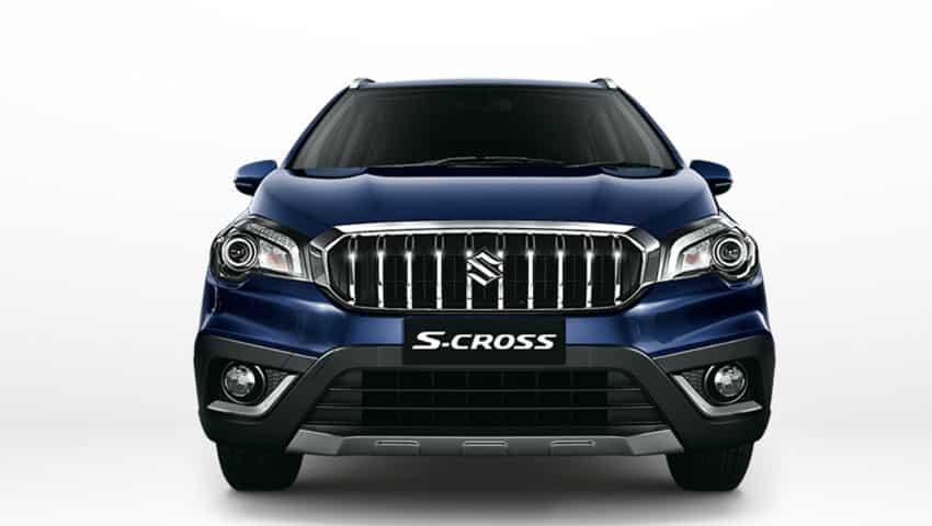 Maruti Suzuki S-Cross: Front Look