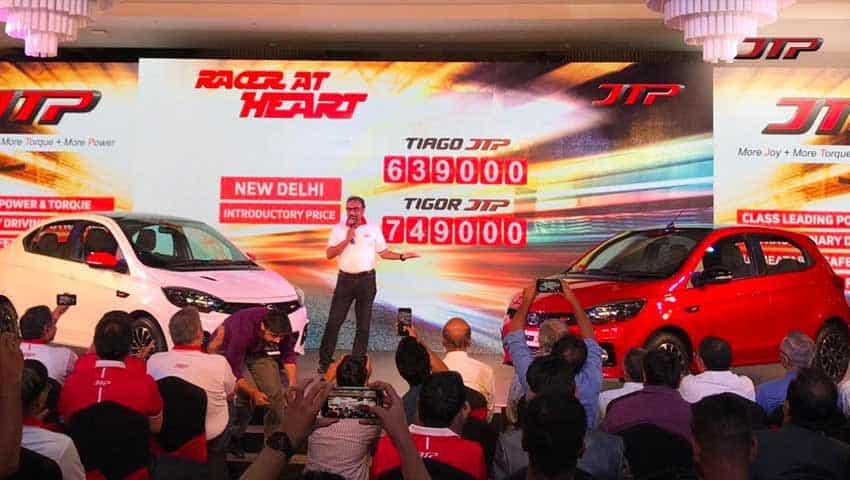 Tata Tiago and Tata Tigor Launch Images