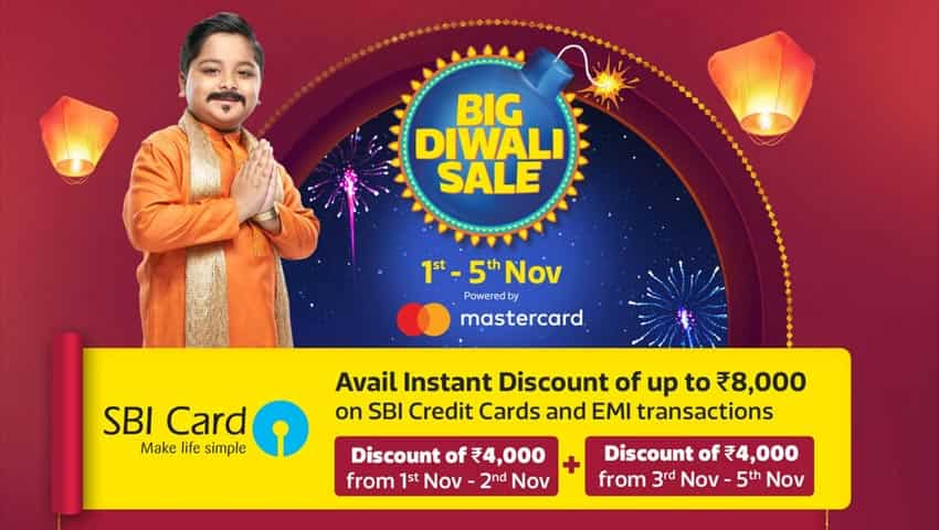 Flipkart's 10% Extra Discount on SBI card