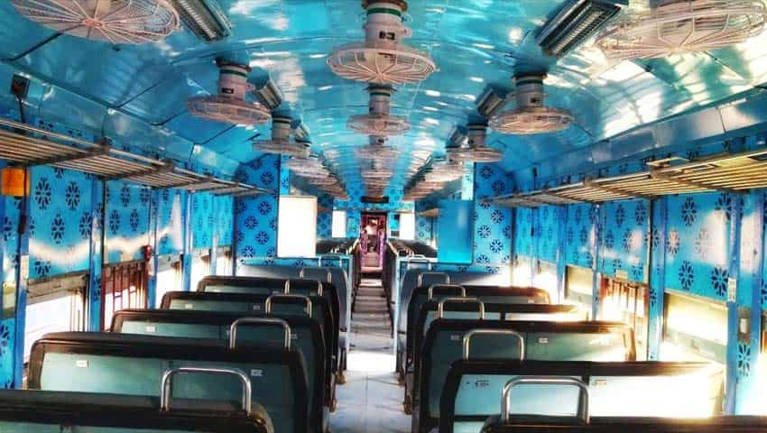 Pragati Express: Interior Colour