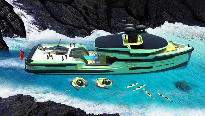 65M Green Expedition: 1,400-tonne monster boast