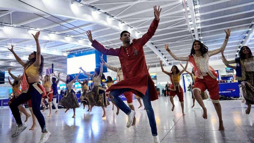 British Airways: Diwali in Bollywood Style at Heathrow Terminal