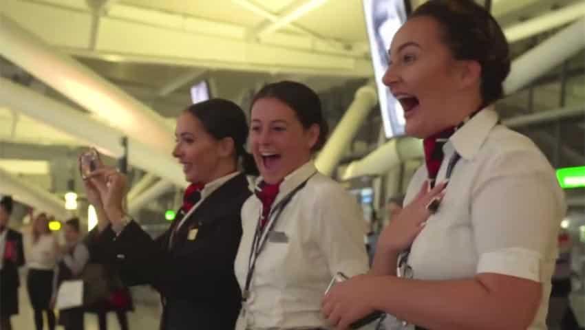 British Airways: Dancers and Drummers