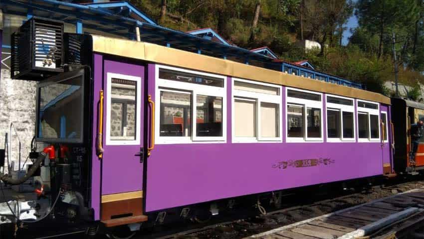 Kalka - Shimla Rail Vistadome coach