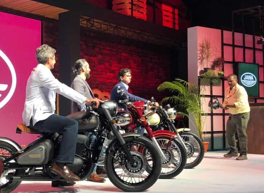 Jawa Motorcycle: Models