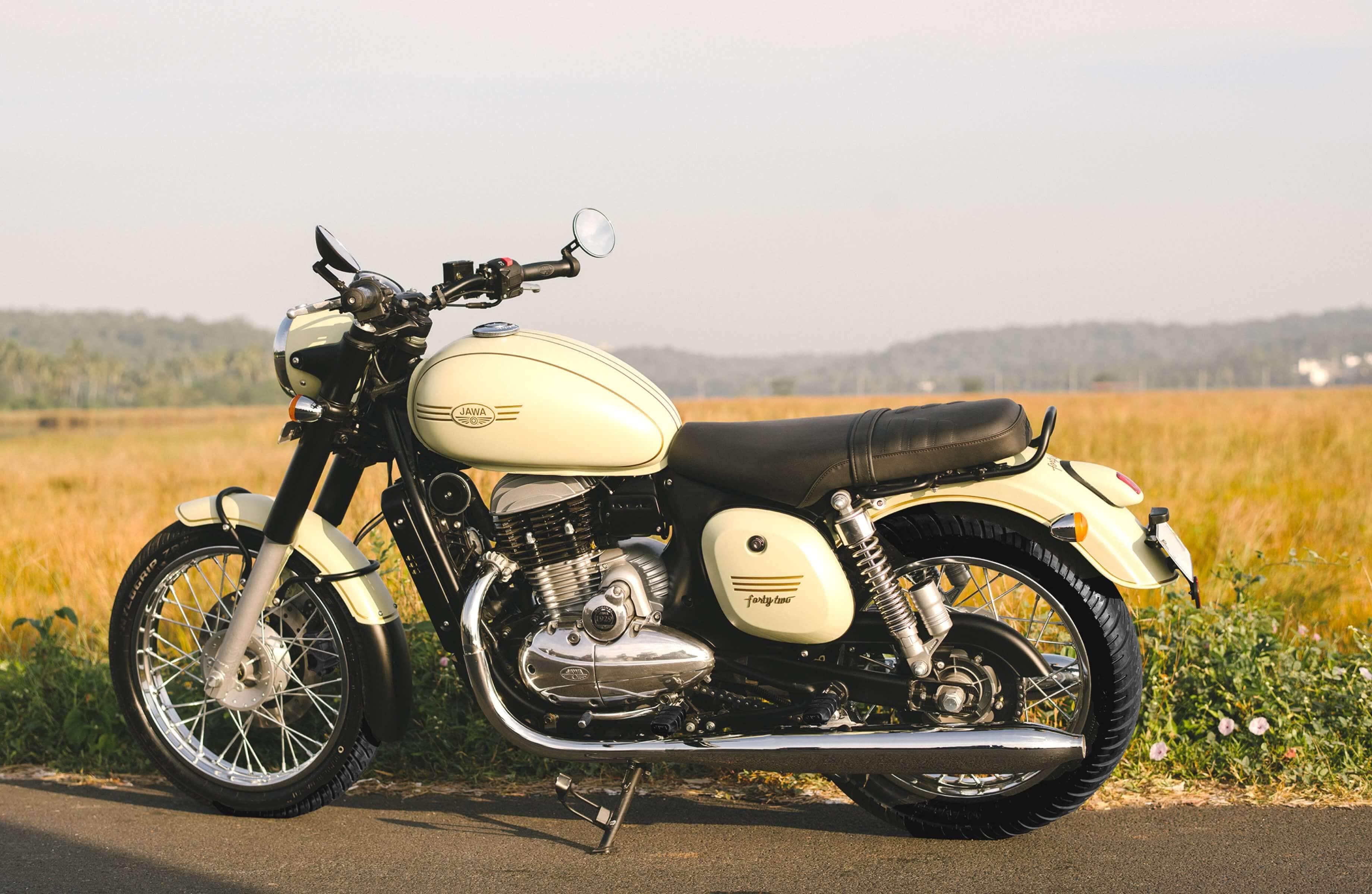 Jawa Motorcycle: Design