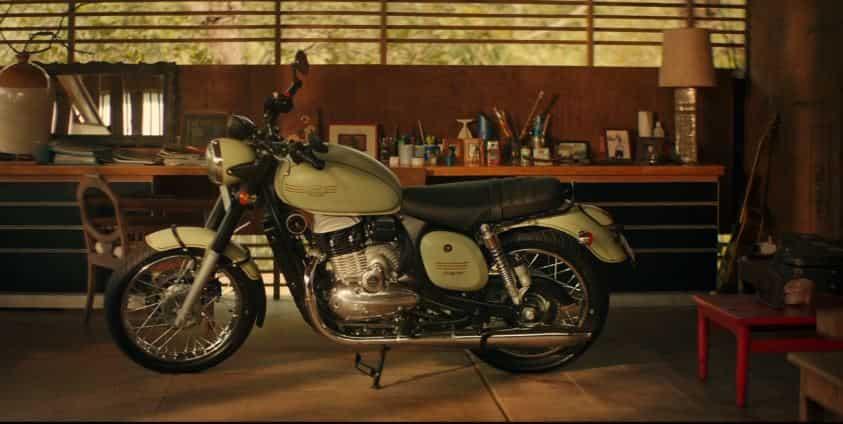 Jawa Motorcycle: Brakes