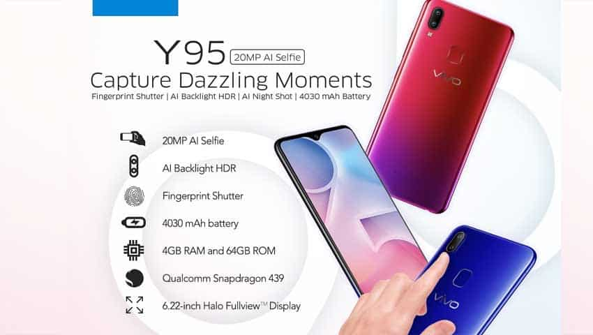 Vivo Y95: Price, Specification,  India launch date, other details