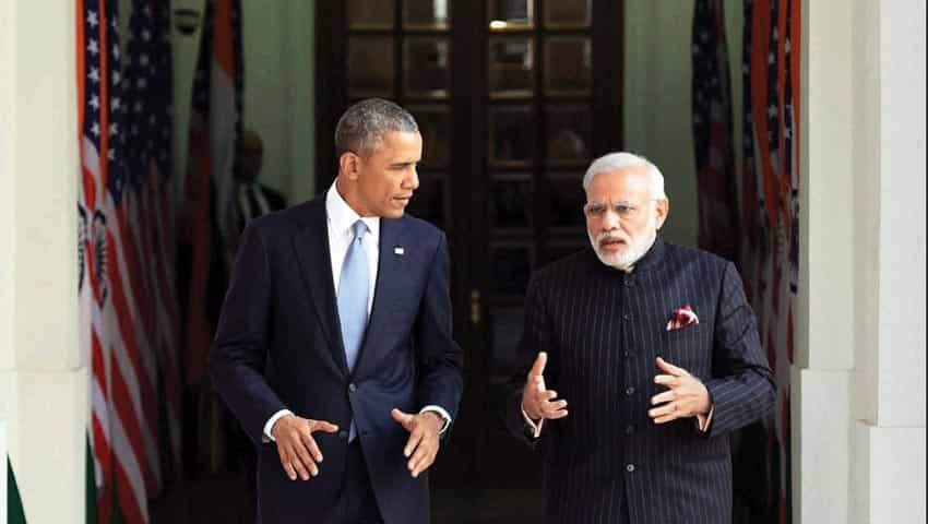 PM Modi with then US President Barack Obama