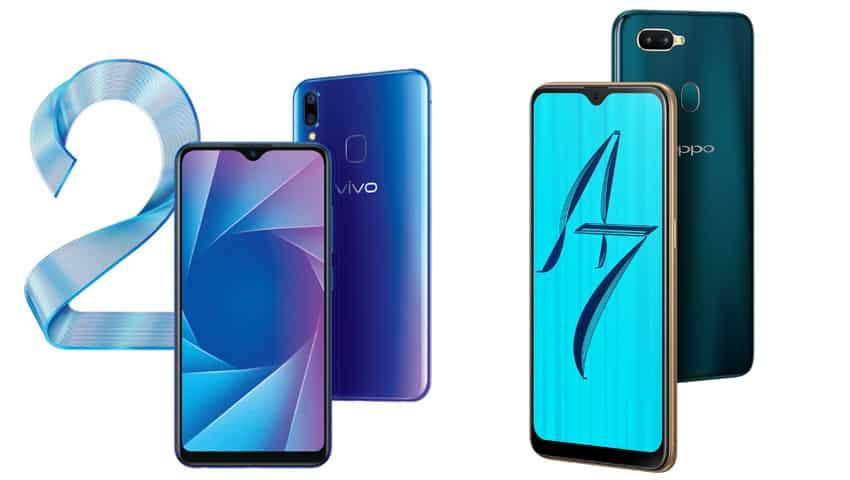 Vivo Y95 vs Oppo A7: Design & Display