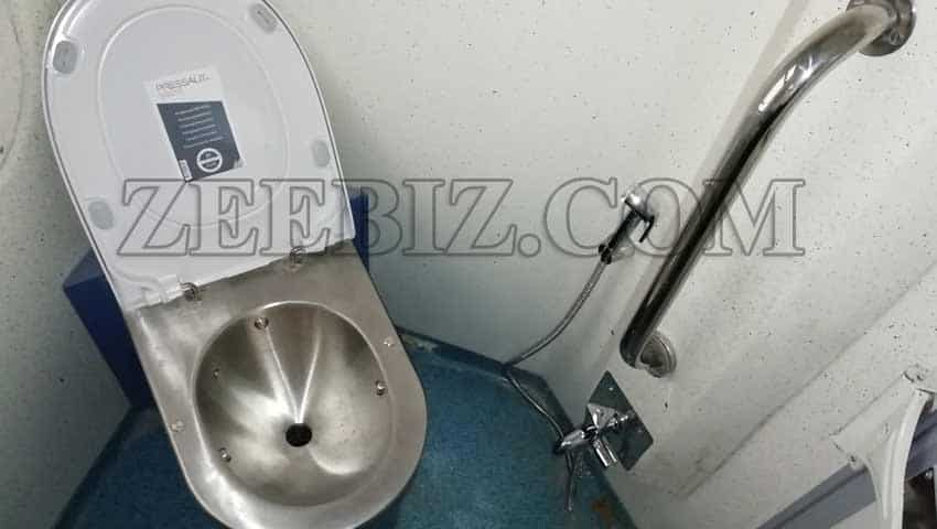 Tejas Express: Bio-vacuum toilets