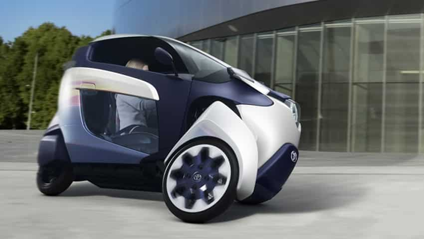 Toyota i-Road: Active lean system