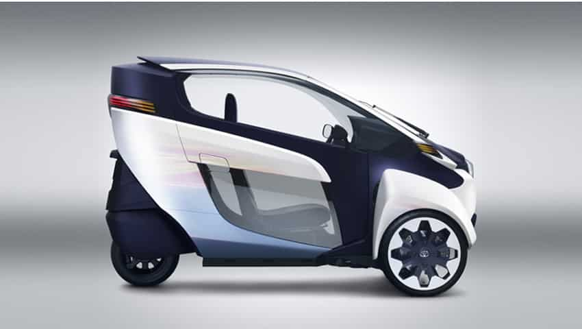 Toyota i-Road: Battery