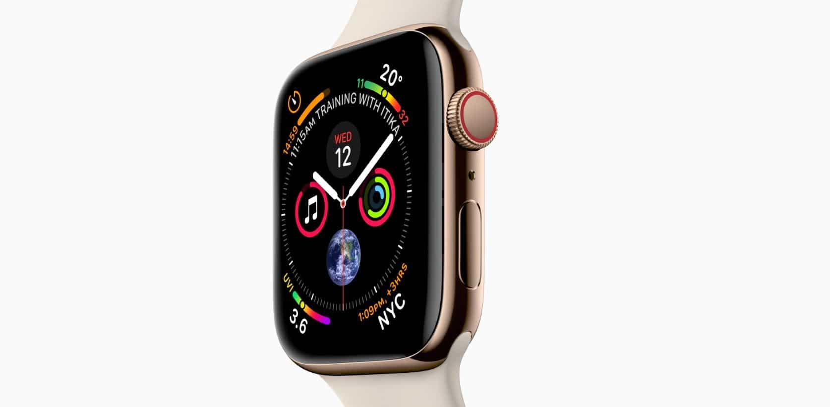 1. Apple Watch Series 4