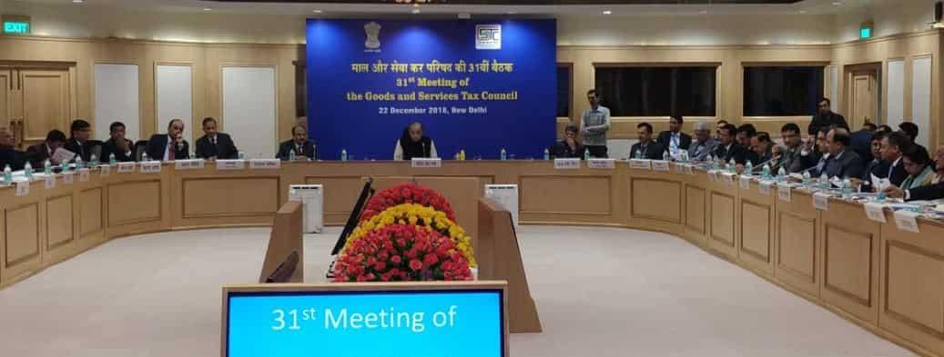 GST council meet today press release