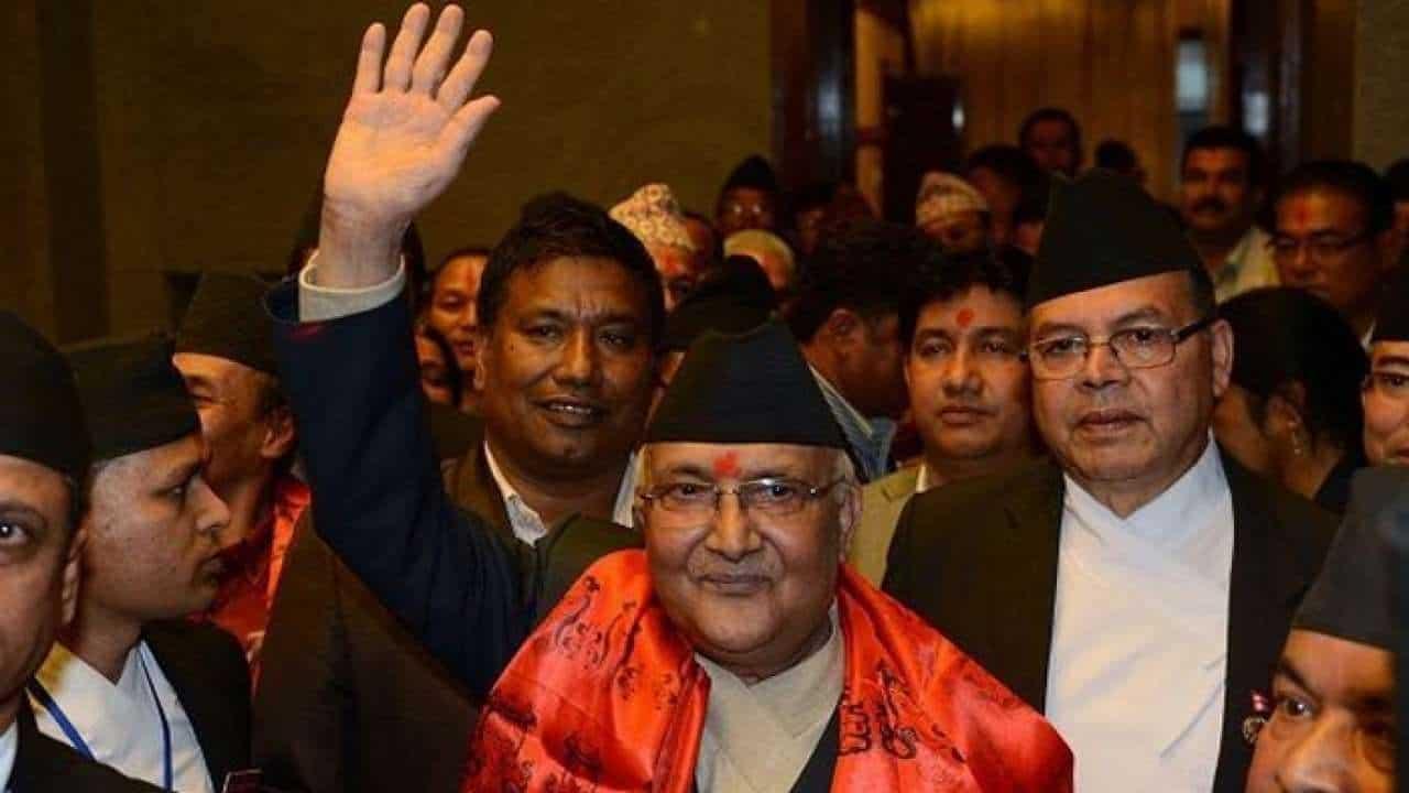 Nepal Prime Minister K.P. Sharma Oli