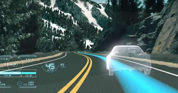 Nissan Invisible-to-Visible assist
