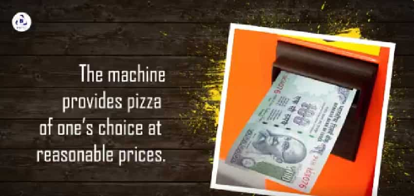 IRCTC pizza vending machine