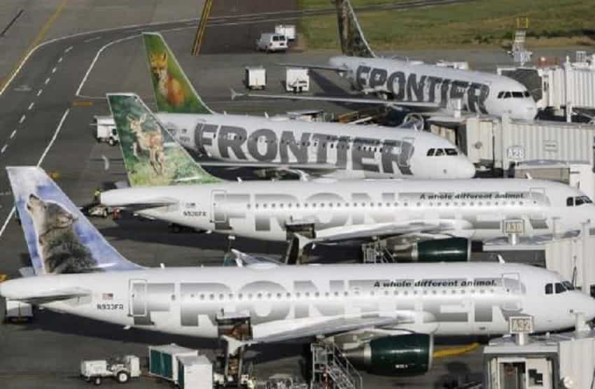 10. Frontier Airlines