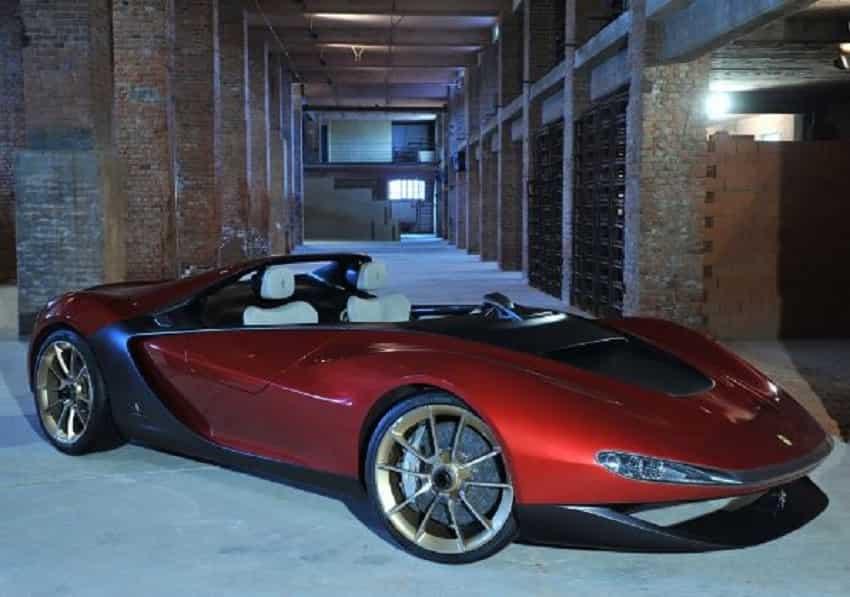 6. Ferrari Sergio by Pininfarina- $3 Million- Rs 21 crore