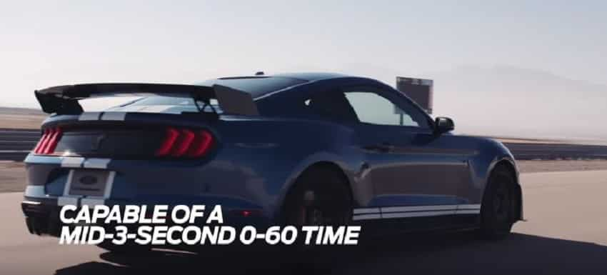 Ford Shelby GT500: Speed