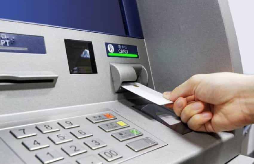 6. Use the ATM, belongs to your bank branch