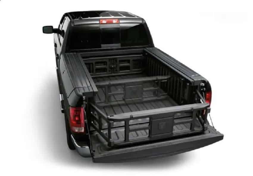 Fiat Ram Truck 2019: Storage space