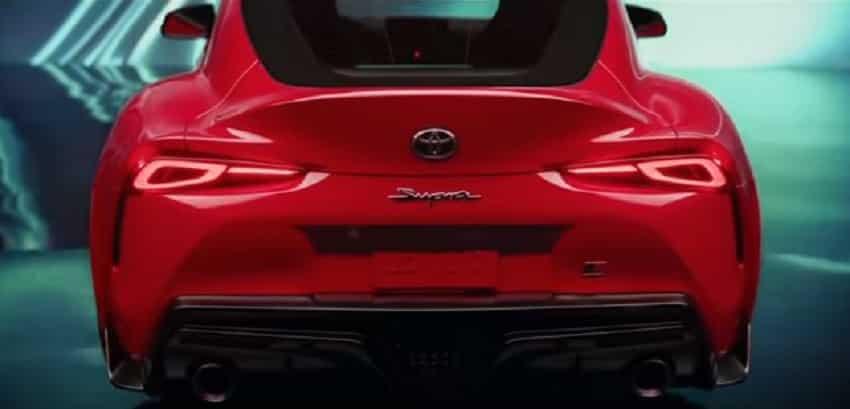 Toyota Supra: Exterior