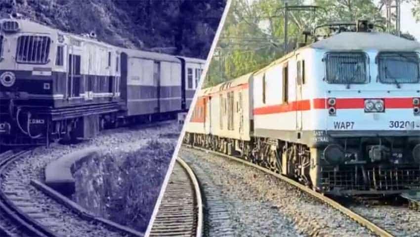 Diesel to Electric locomotive