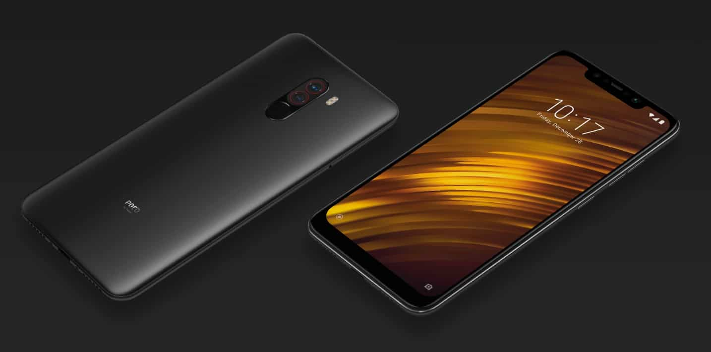 Xiaomi Poco F1 (Starts at Rs. 20,999)